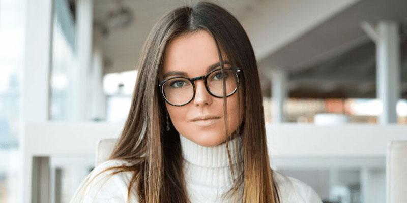 lunettes et sourcils